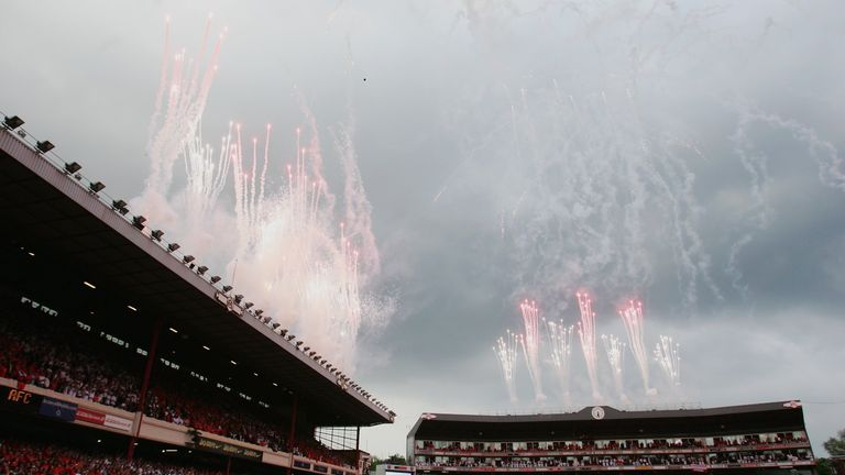 Arsenal bid farewell to Highbury after 93 years at the stadium