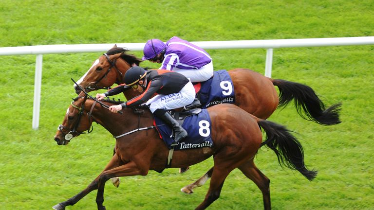 Jet Setting sees off Minding to win her classic