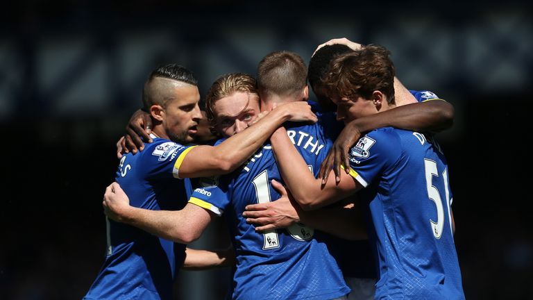 Everton finished 11th in the Premier League last season, five places and 16 points below Southampton