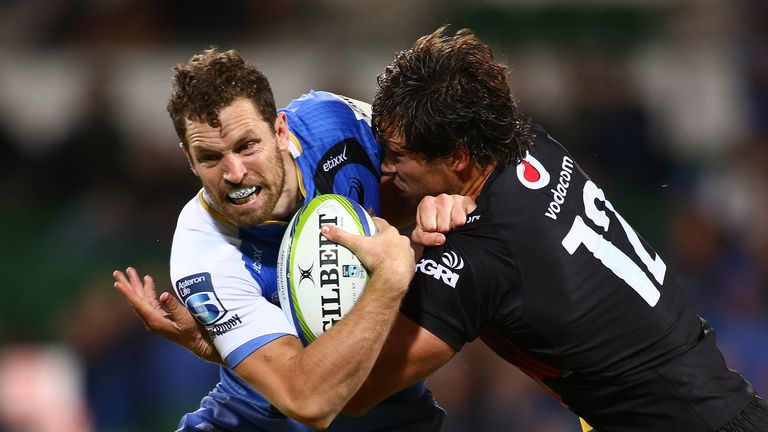 Jan Serfontein was back to his best against the Bulls