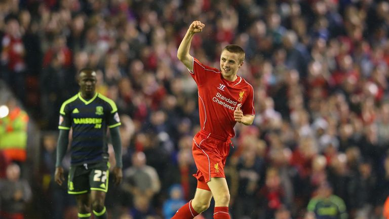 Liverpool youngster Jordan Rossiter has agreed a move to Rangers