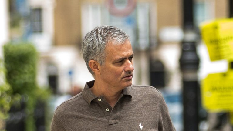 Jose Mourinho is set to become Manchester United's new manager