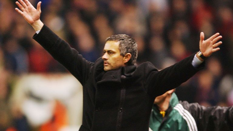 Mourinho lost only home league game during his time in charge of Porto
