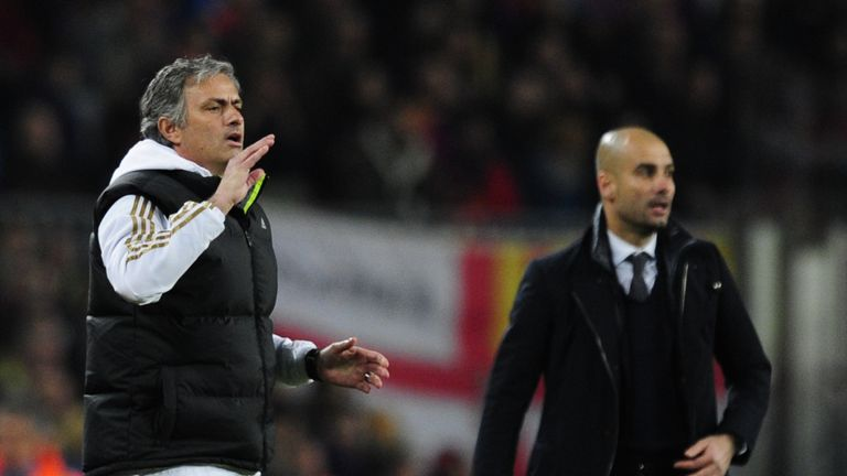 Mourinho and Pep Guardiola locked horns in La Liga