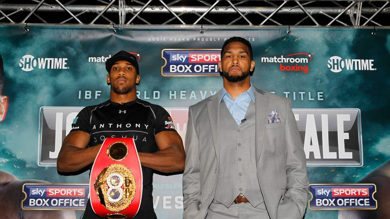 Anthony Joshua will defend the IBF title against Dominic Breazeale on June 25