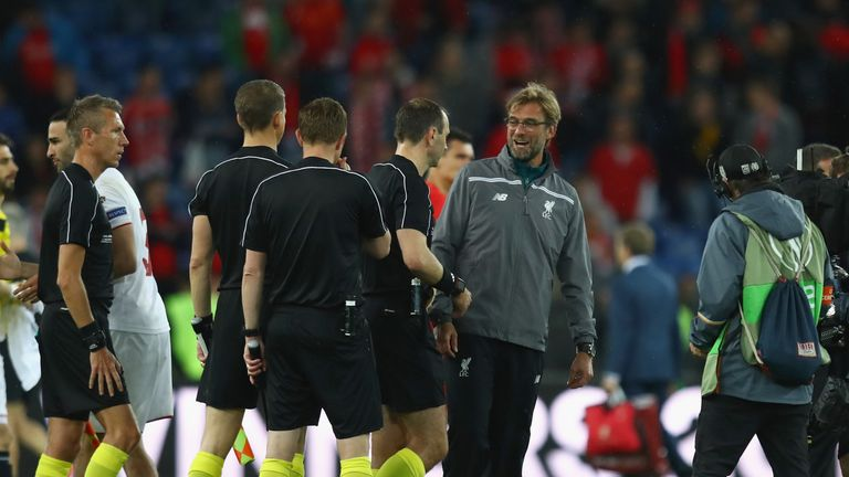 Jurgen Klopp says key decisions went against Liverpool in Basel