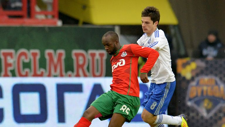 Diarra in action for Lokomotiv Moscow