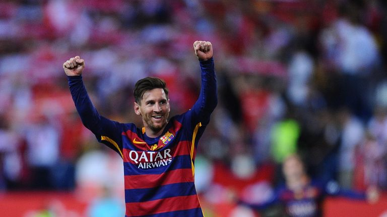 Barcelona say the club fully supports Messi