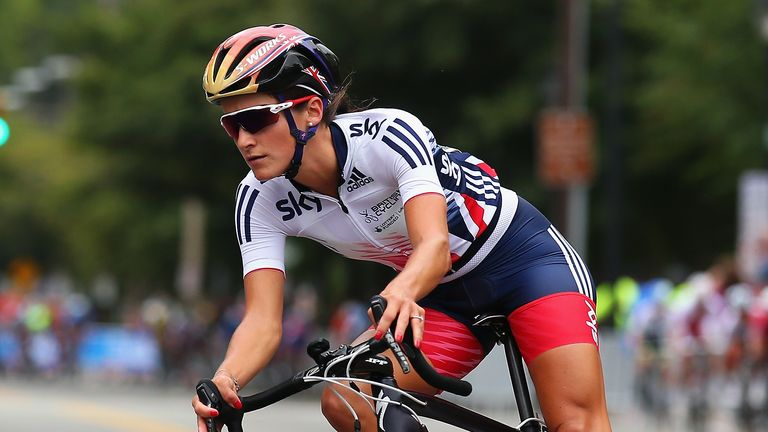 Britain's Lizzie Armitstead is favourite for the women's road race