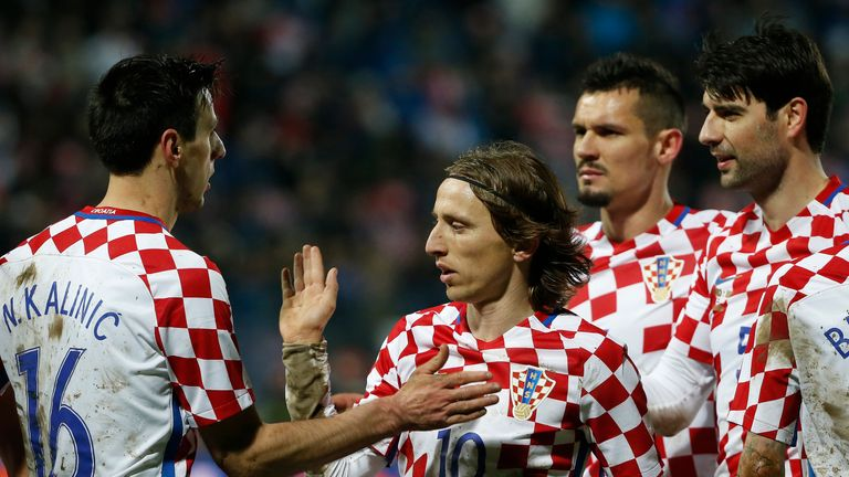 Luka Modric's Croatia are aiming to spring a surprise at Euro 2016