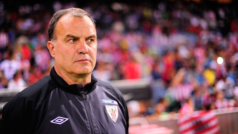 Marcelo Bielsa managed Athletic Bilbao between 2011 and 2013