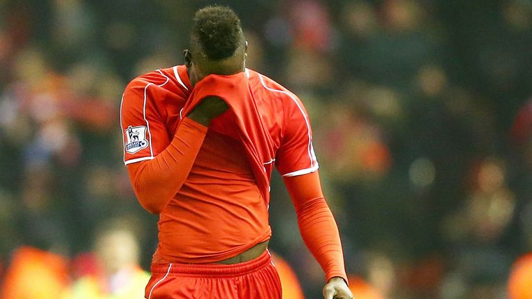 Balotelli did not settle at Liverpool