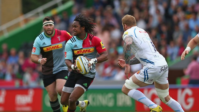 Marland Yarde beat Ashton to a place in the squad