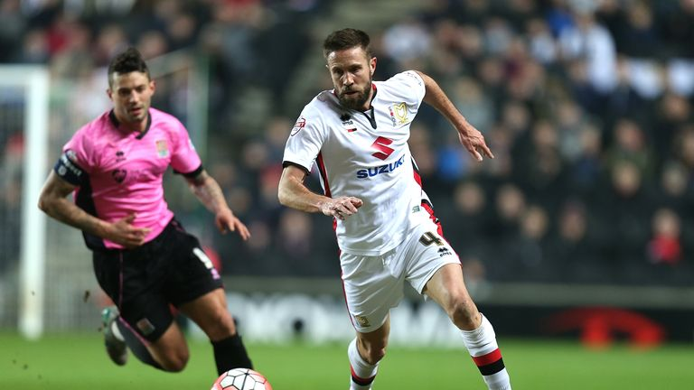Matthew Upson: Among four players leaving MK Dons