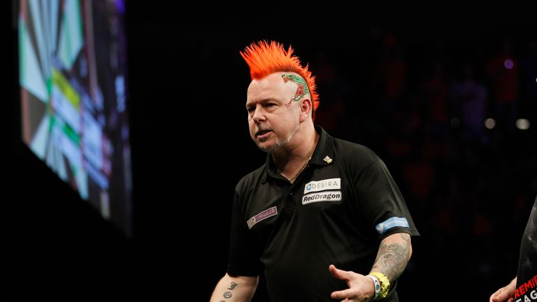 Peter Wright came up short on a night of high drama in Scotland