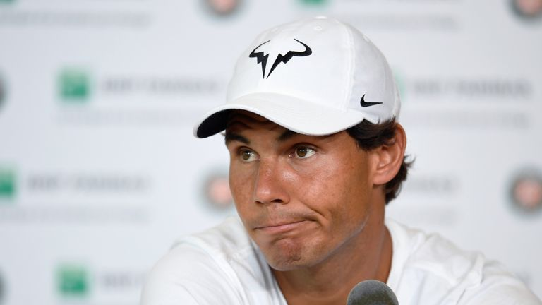 Rafael Nadal might not be back from injury in time for Wimbledon