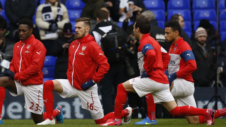 Aaron Ramsey has sympathy for team-mate Danny Welbeck