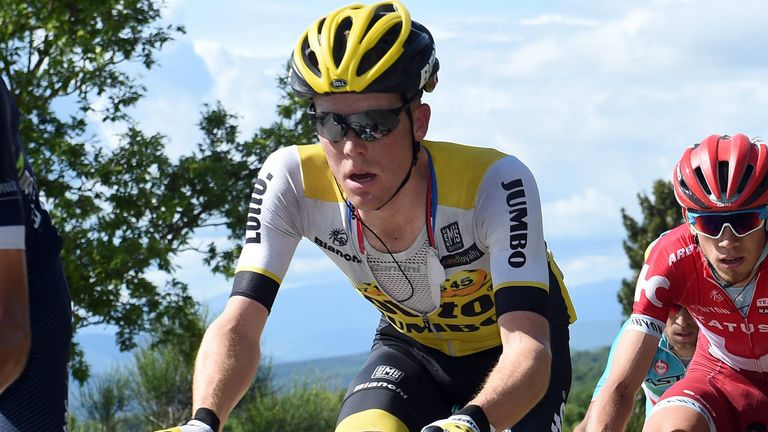 Steven Kruijswijk led the Giro d'Italia with three stages to go but finished fourth