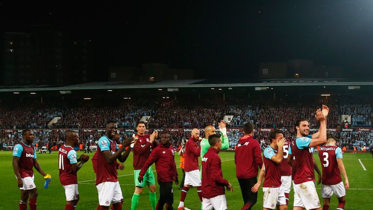 West Ham start their season on July 28