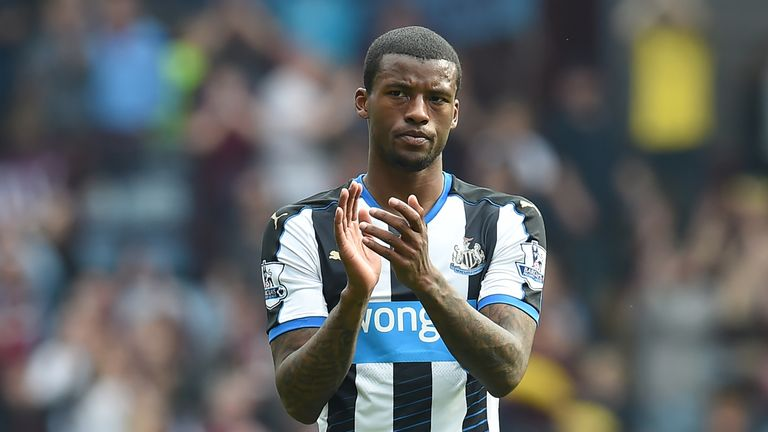 Georginio Wijnaldum is a top target for Everton
