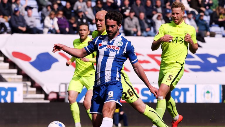 Will Grigg's 15 goals helped fire Wigan to promotion from League One