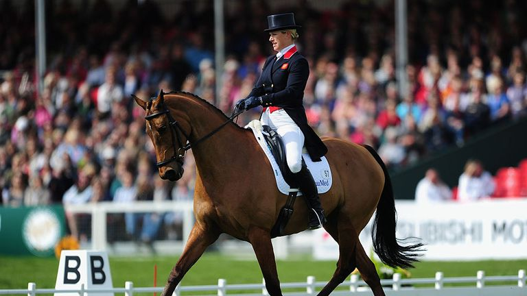 Zara Tindall became the first member of the Royal family to win an Olympic medal four years ago in London