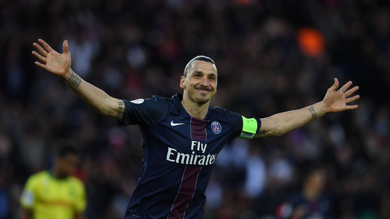 Ibrahimovic has won the French league's best player award more times than any other player