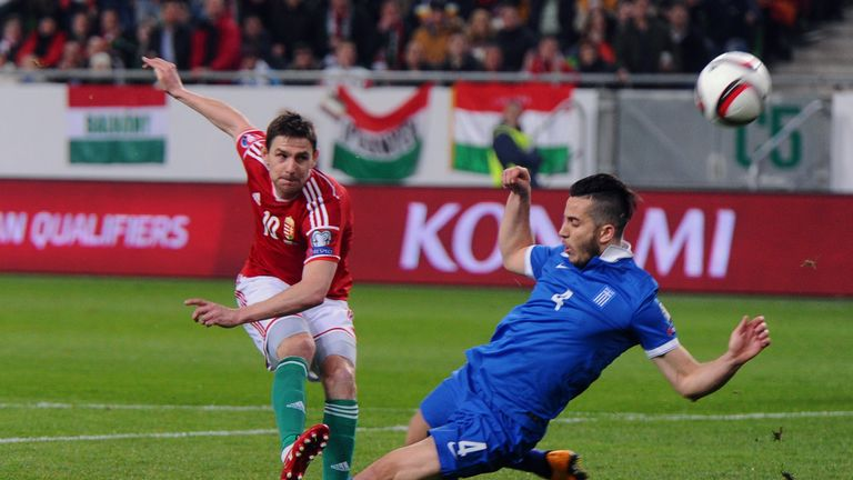 Zoltan Gera will be at Euro 2016 with Hungary