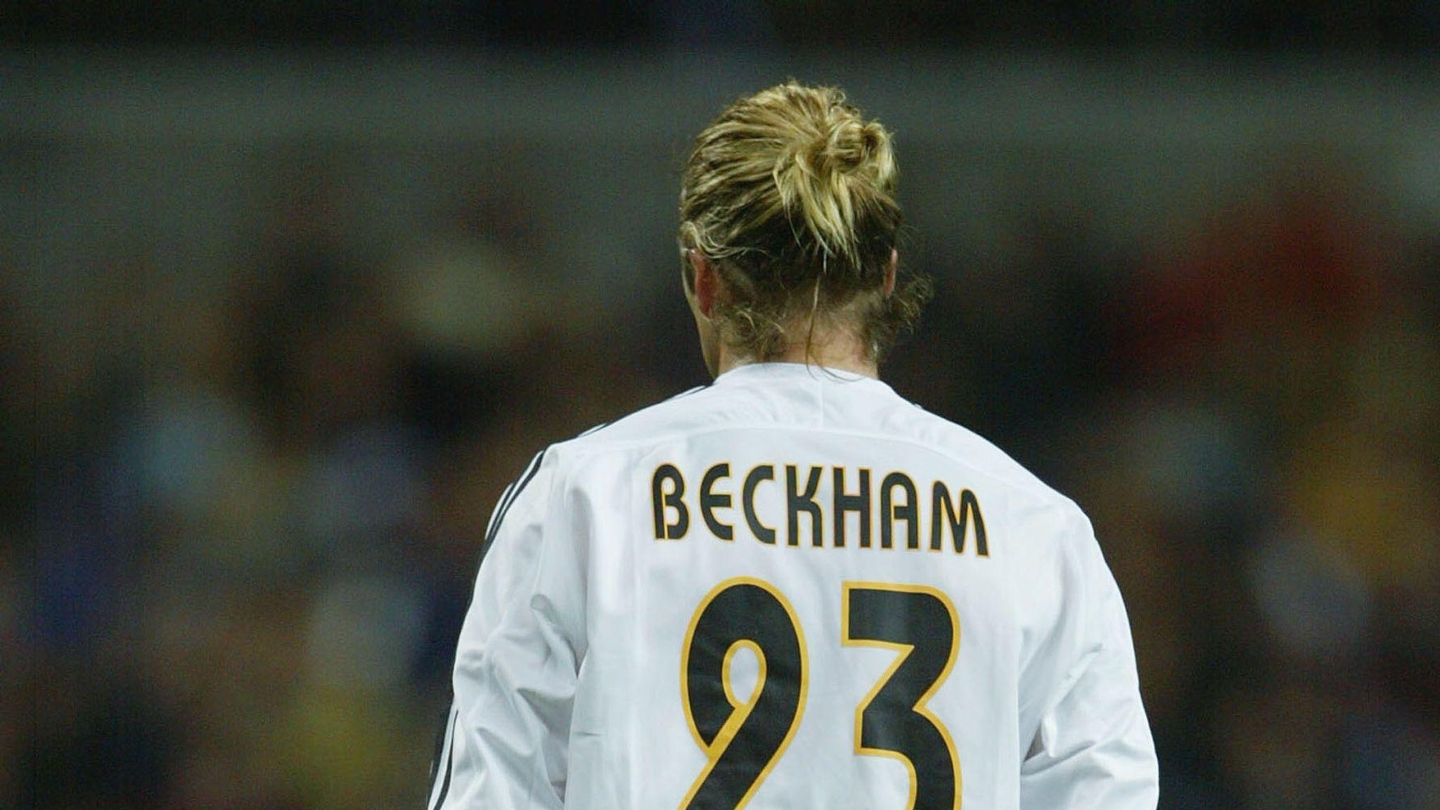 promo code 17833 ffc79 Gareth Bale breaks David Beckham's Real Madrid appearance ...
