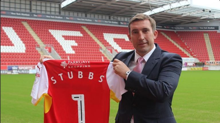 Alan Stubbs took over at Rotherham in early June