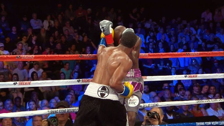 Demetrius Andrade had Willie Nelson in all sorts of trouble