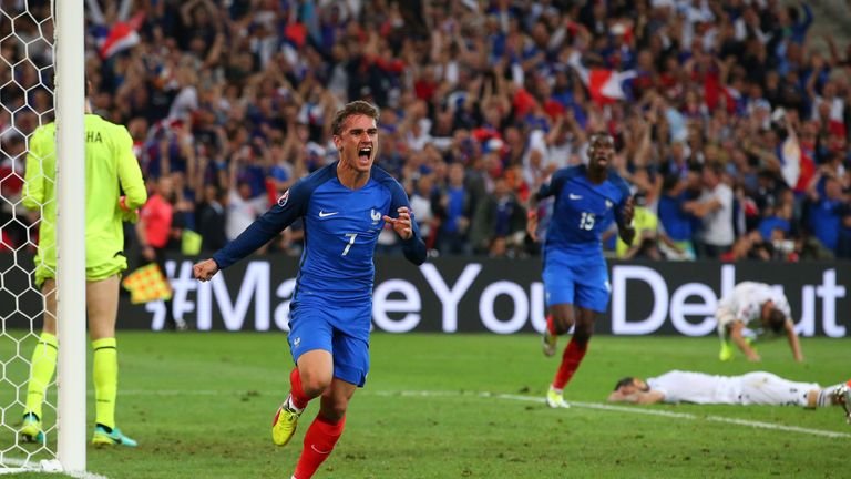Griezmann is part of France's Euro 2016 squad