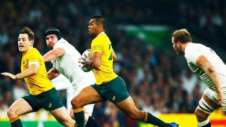 Australia beat England in the last meeting between the teams in the World Cup