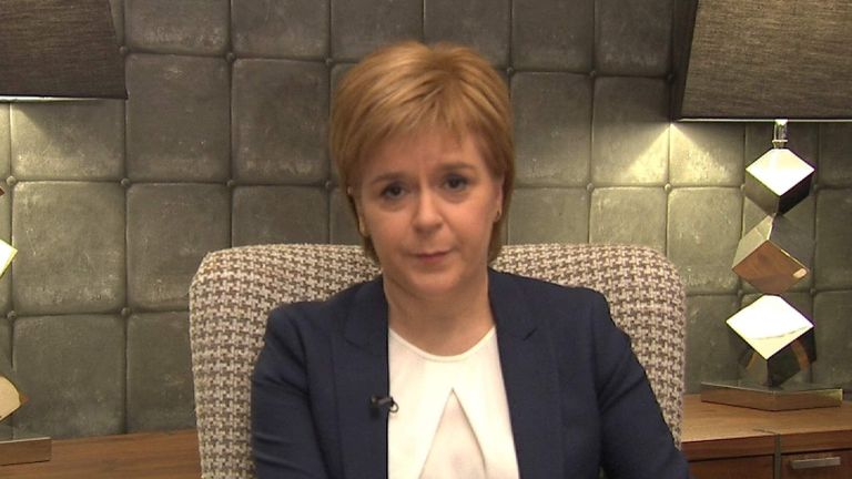 First Minister Nicola Sturgeon has welcomed the event to Scotland