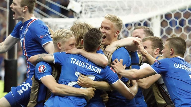Iceland will look to upset the odds once again on Monday night in Nice