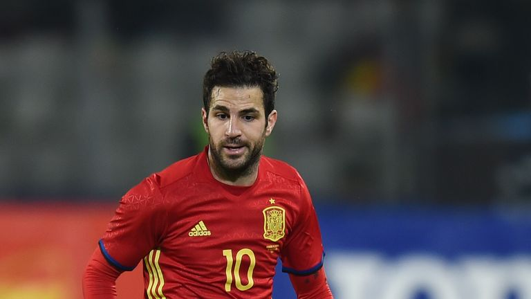Cesc Fabregas and Spain are out to retain their European Championship crown