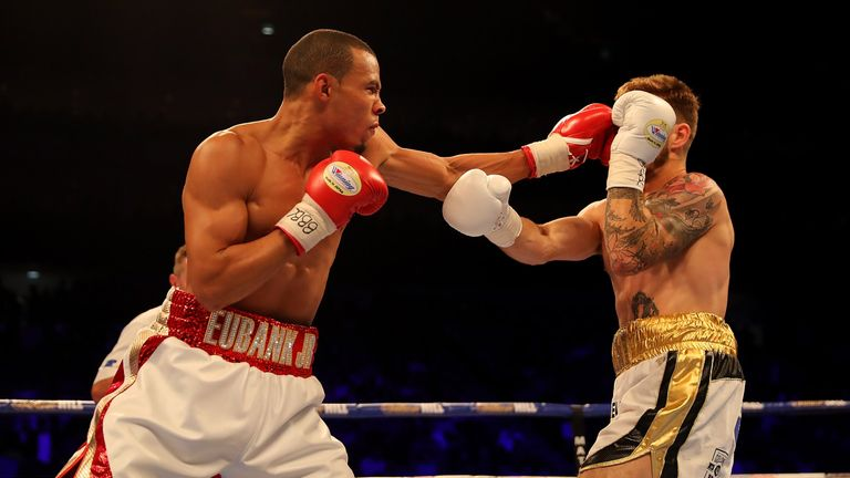 Chris Eubank took out Tom Doran and wants Gennady Golovkin next