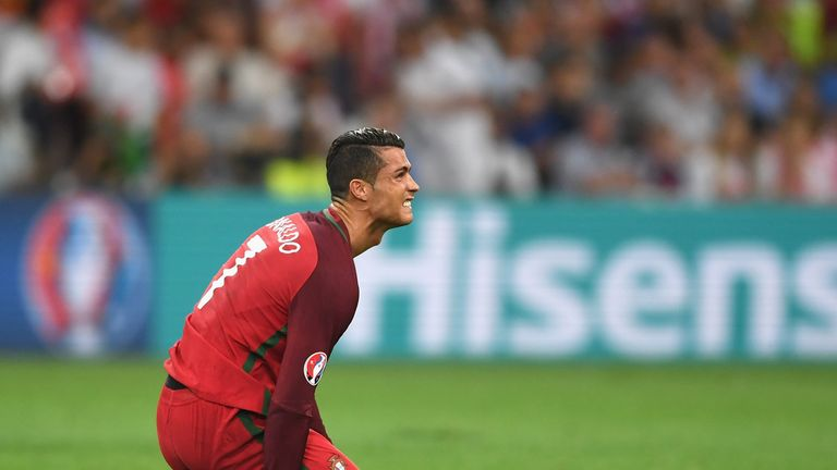 Ronaldo toiled in front of goal