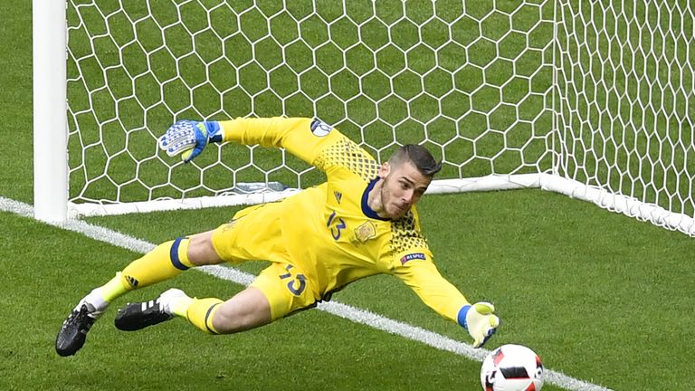 David De Gea was in fine form for Spain