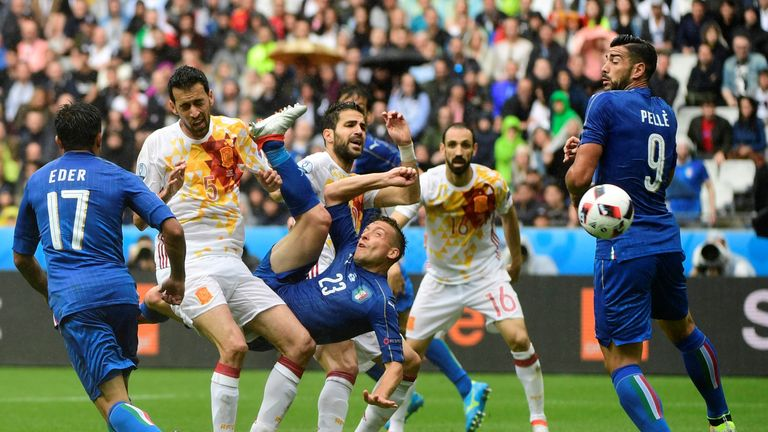 Spain crashed out of Euro 2016 after being beaten by Italy in the last 16