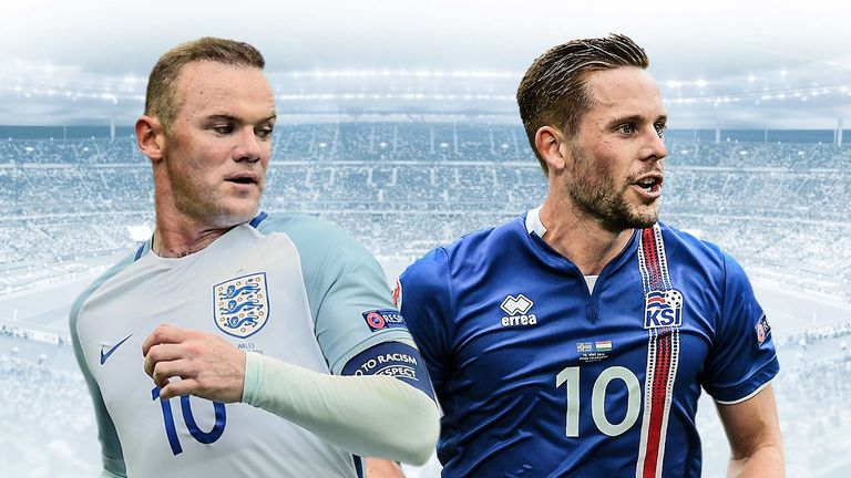 Iceland take on England in Nice on Monday in the Euro 2016 second round