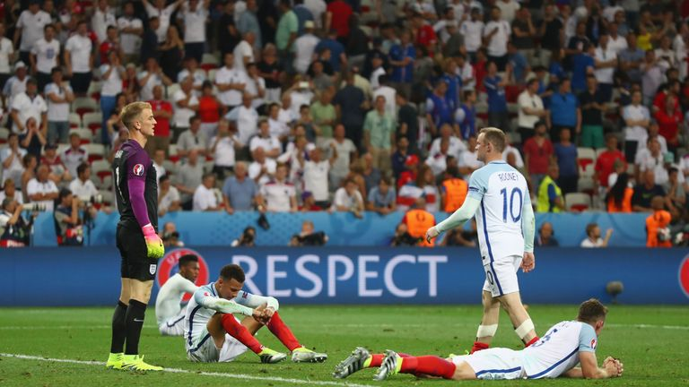 England failed to create in the second half as Iceland defended stubbornly