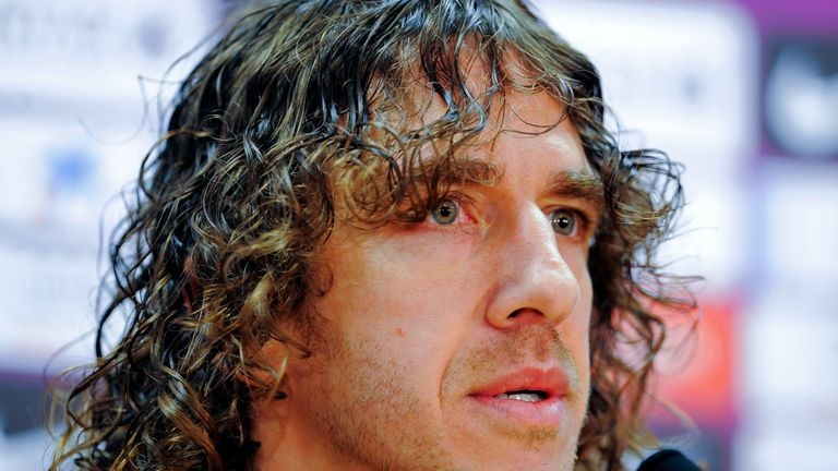 Carles Puyol was named in the all-time XI