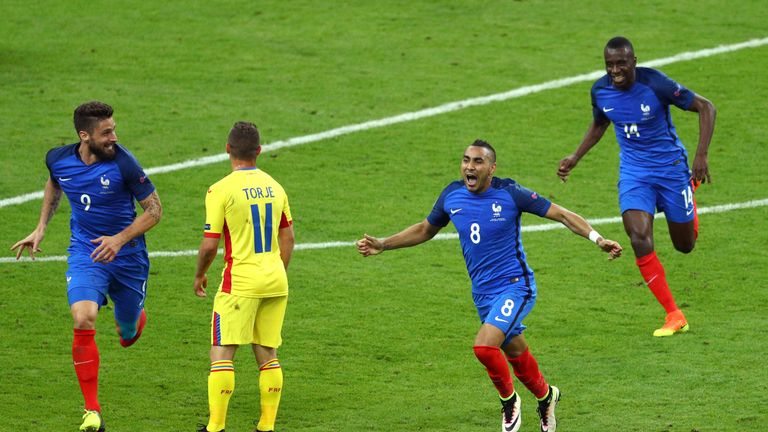 Payet was France's hero with a fantastic late winner in the 2-1 victory over Romania in Euro 2016's opening game