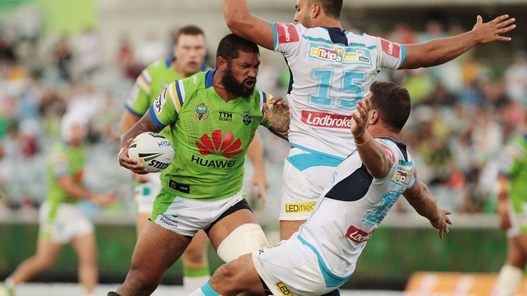 Frank-Paul Nuuausala is looking forward to a new challenge in Super League