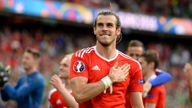 Gareth Bale is the second most marketable player to have appeared at Euro 2016