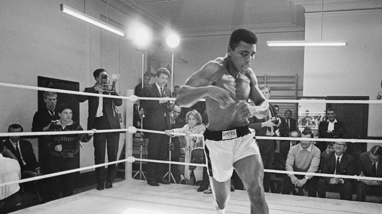 Muhammad Ali continues to inspire boxers to take up the sport