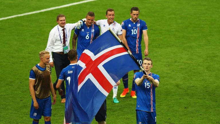 Euro 2016 is Iceland's first ever major tournament