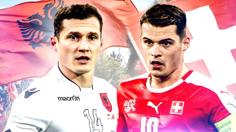 Taulant and Granit Xhaka are set to face each other at Euro 2016 on Saturday