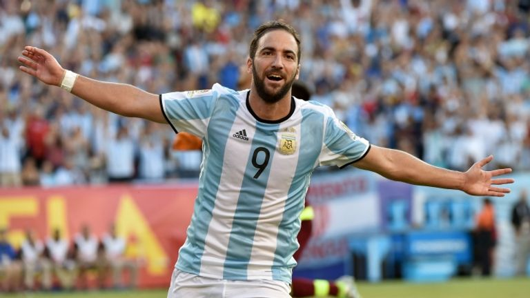 Gonzalo Higuain is a potential target for Arsenal